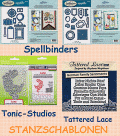 Stanzschablonen Spellbinders - Tonic-Studio - Tattered Lace