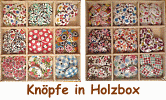 Knopfset in Holzbox