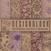 Design Block Kraftpapier z.T. Foliendruck