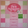 Design-Karton-Block   - Pink Highlights
