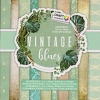 Papier Design Block Vintage Blues